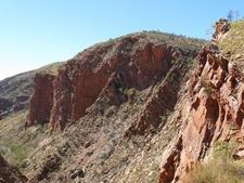 Serpentine Gorge Side Wall