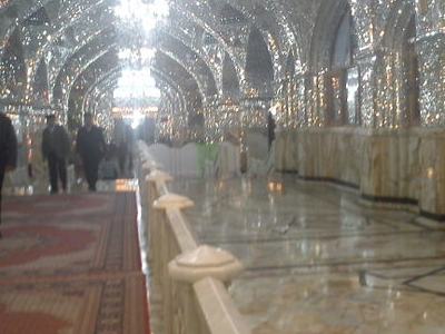 Shah Abdol Azim Shrine Inside