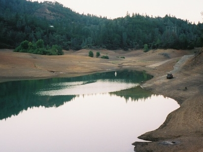 Low Waters On Lake Shasta