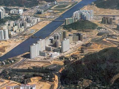 Sha Tin   Shing Mun River   Early Stage Of Development