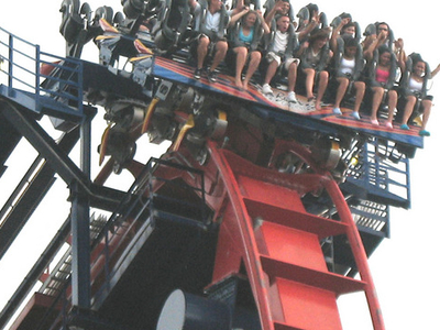 Sheikra On The High Overhang