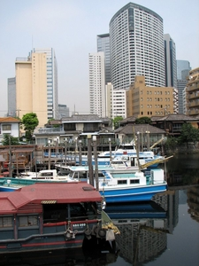 Shinagawa House Boats