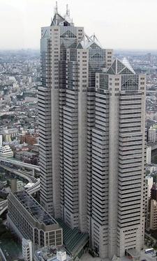 View Of Shinjuku Park Tower