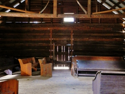 The Interior Of Shoal Creek Church