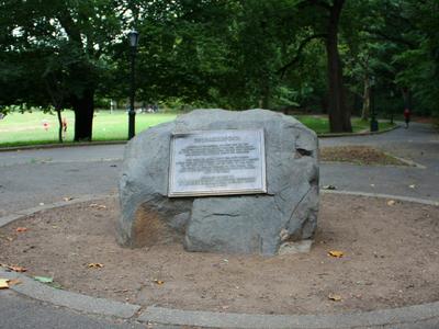 Shorakkopoch Rock In Inwood Hill Park