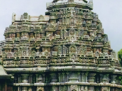 Close Up View Of Vimana