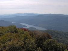 View From The Shuckstack Firetower