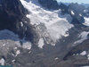 Mount Spickard With Silver Glacier And Silver Lake