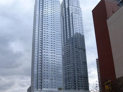 View Of Silver Towers
