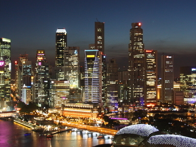 Downtown Core Of Singapore