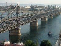 China y Corea del Puente de la Amistad
