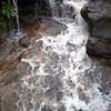 Small Waterfall Created By Rain At Bedse Caves