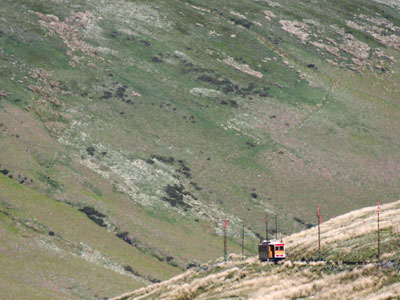 Snaefell With  Snaefell  Mountain  Railway