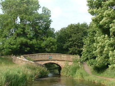 A Roving Bridge On Macclesfield Canal