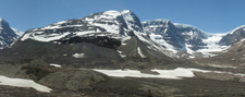 Snow Dome And Dome Glacier