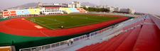The Soccer Field Of Yantai University