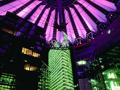 Sony Center At Night