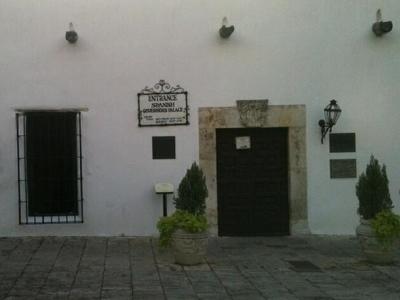 Palace Entrance Showing Building Exterior