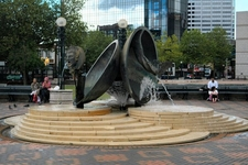 Spirit And Enterprise Sculpture