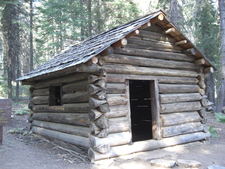 Squatter's Cabin Sequoia National Park