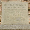 Marker At Boone\'s Original Burial Site