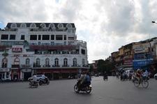 Square Near Hoan Kiem Lake