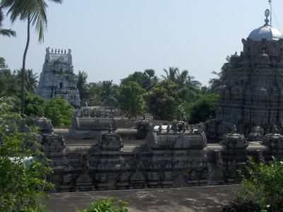Srikurmam   Temple  Sky  View