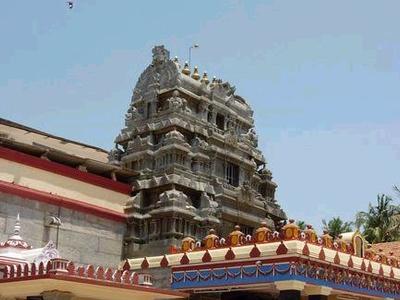 Sharada Temple At Sringeri
