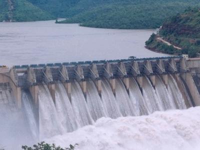 Srisailam Dam