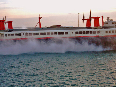 The Last Commercial Hovercraft Service