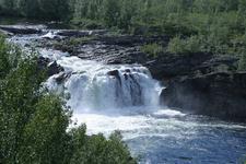Stabbursfossen Waterfall