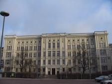 The Main Building In Bulevardi