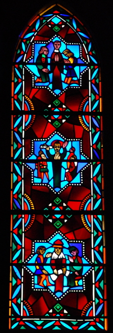Stain Glass Andrew Mellon