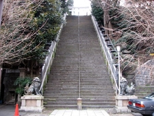 Stairs To The Atago Shrine