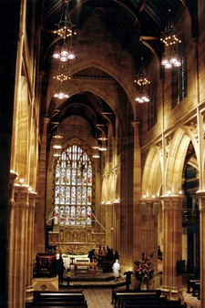 St Andrew's Cathedral Interior