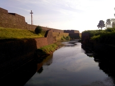 St .angelo Fort Side View