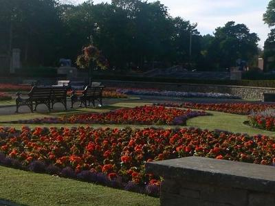Italian Gardens Of Stanley Park