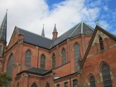 View Of Ste. Anne De Detroit Catholic Church
