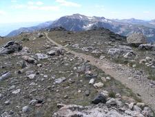 Alaska Basin Trail Looking South