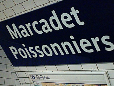 Marcadet - Poissonniers Station