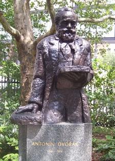 Statue Of Antonín Dvořák
