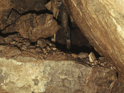 Boulder Collapse In St Cuthberts Swallet