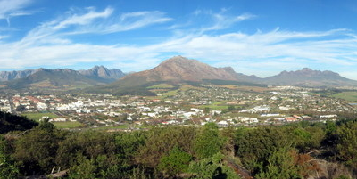 A Panorama Of Stellenbosch