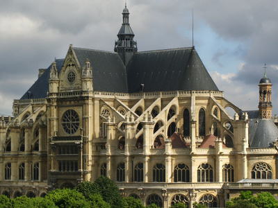 St Eustache View From South East