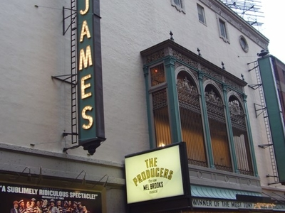 View Of St. James Theatre