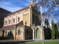 The Exterior Of The Original Portion Of The Cathedral