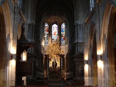 Church Of Saint-Merri Interior