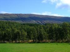 View Towards Storfjellet Mountain