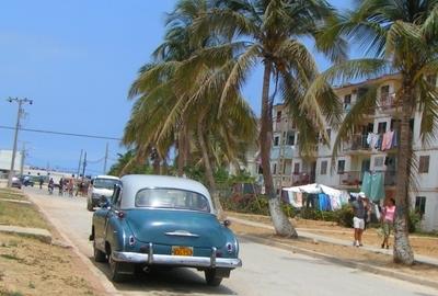 Street In Santa Cruz Del Norte