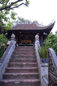 Stairs Of One Pillar Pagoda